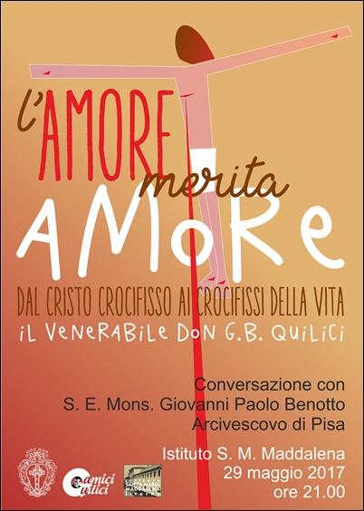 L'Amore merita Amore – Istituto S.M. Maddalena 29 maggio 2017 ore 21.00