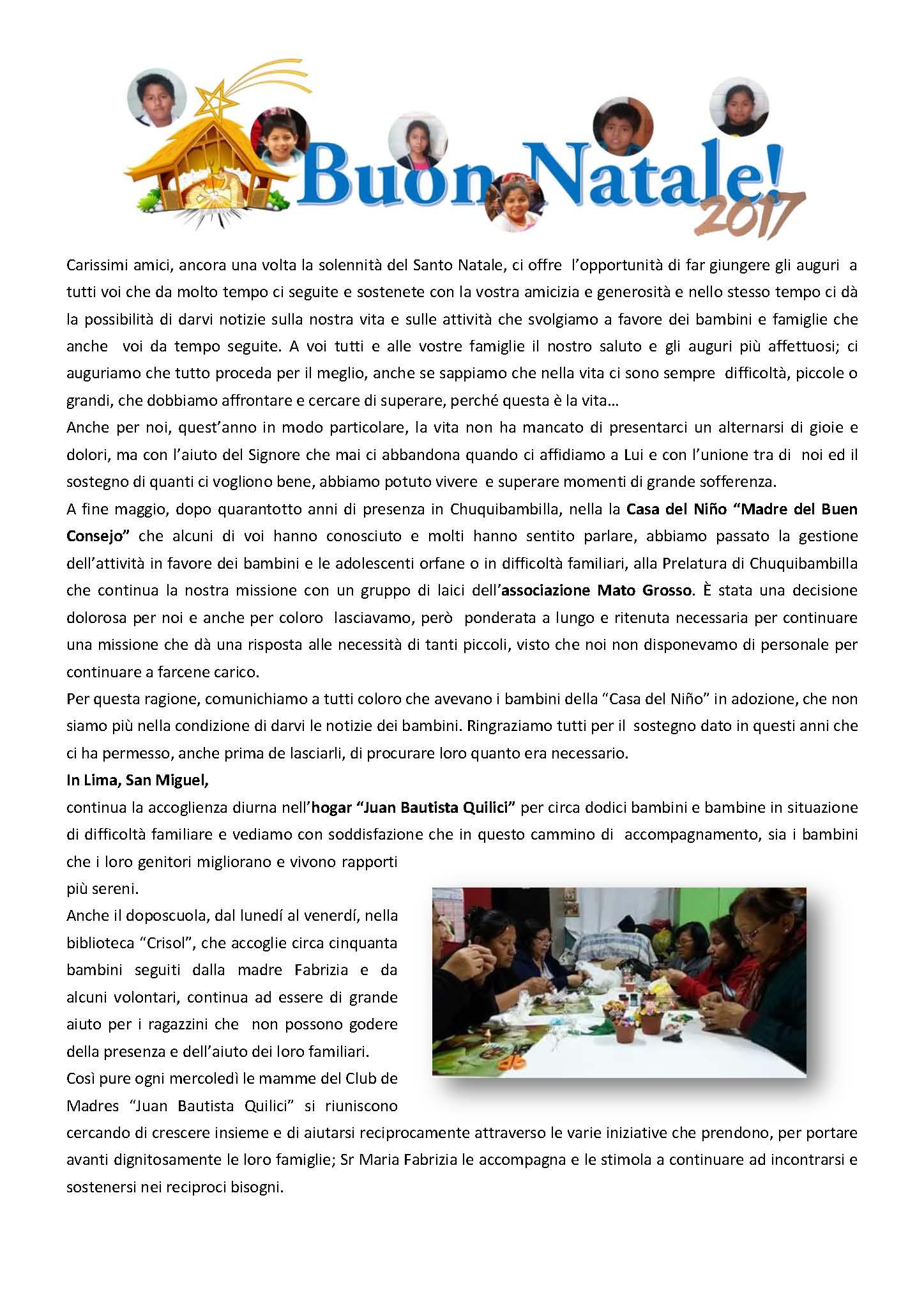 PERU LETTERA AMICI DICEMBRE 2017_Pagina_1